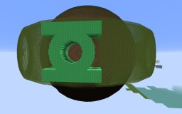 green lantern MOGO Minecraft Map & Project
