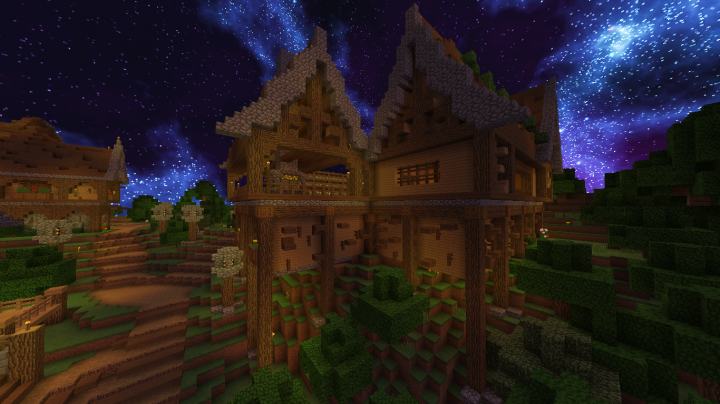 Medival Huge House By Sacryuz Minecraft Project