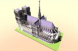 Notre-Dame de Paris Minecraft