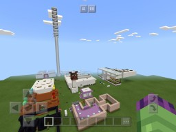 Fnaf 1,2 and 4 maps for role-play! And modern houses and jump towers and market/shopping mall Minecraft Map & Project