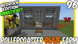 Concept Blaze Rollercoaster Spawner Farm Bedrock Edition Minecraft Map & Project