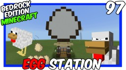 Super Simple Egg Station Minecraft Map & Project