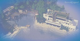 Amazing Modern Beach-Side Mansion! Minecraft Map & Project
