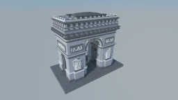 Arc de Triomphe de Paris Minecraft Map & Project