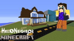 Minecraft Hello Neighbor Minecraft Map & Project