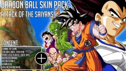 DRAGON BALL SKIN PACK: ATTACK OF THE SAIYANS! Minecraft Blog Post