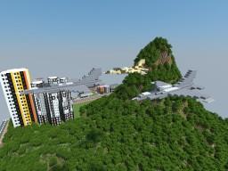 Lockheed Martin F-16 (+F-16 block 60) Minecraft Map & Project