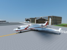 Gulfstream G650 Minecraft Map & Project