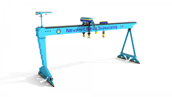 Popular Server Project : Big Blue - Krupp Gantry Crane 1:1 scale