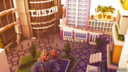 CrazyGTA Modern City Spawn Minecraft Map & Project