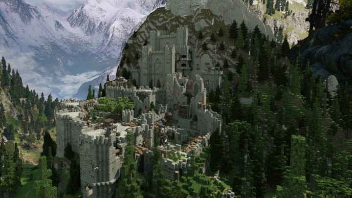 Popular Project : [WITCHER 3] Kaer Morhen with surroundings