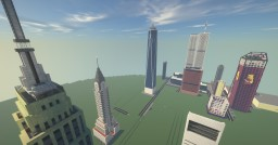 Landmark City - A Minecraft Project by TheBattleRifle Minecraft Map & Project
