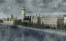 How is London being built there? Minecraft