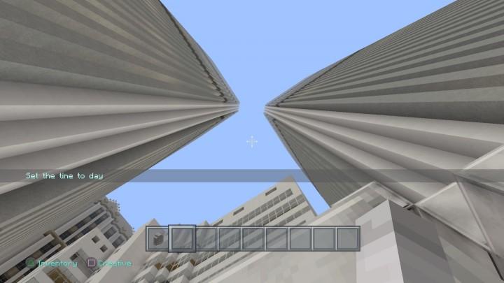 Between The World Trade Center
