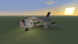 "Erich Hartmann's JA-111 Canadair Sabre in ""Black Tulip"" camo Minecraft Map & Project"