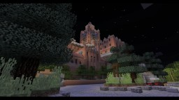 Custom Tower of Terror dark ride Minecraft Map & Project
