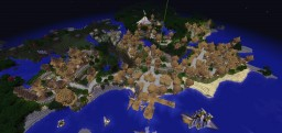 Medieval City Minecraft Map & Project