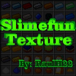 Slimefun texture v2.0 - By: RaulH22 Minecraft