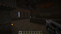 Quake 2 : Map and ressource pack Minecraft Map & Project
