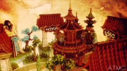 Asian Theme Hub Minecraft Map & Project