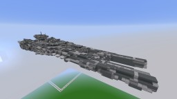 Retribution-class Super Dreadnought (1:30 scale) Minecraft Map & Project