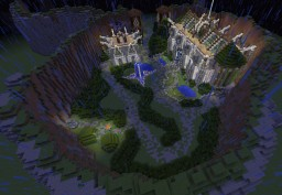 New MMORPG MAP Minecraft Map & Project