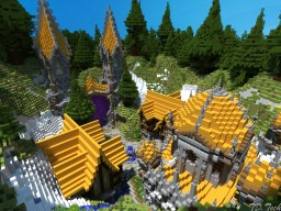Spawn/HUB build by TD.Tech Minecraft Map & Project