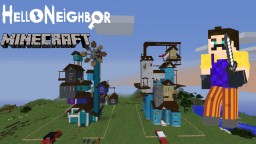 Minecraft Hello Neighbor Custom House Minecraft Map & Project