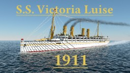 S.S. Victoria Luise 1911 Minecraft Map & Project