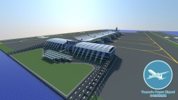 Yamada Fugue Airport - Large Airport Project In Minecraft Minecraft
