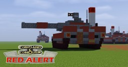 C&C Red Alert Heavy Tank (Compact Vers.) Minecraft Map & Project