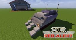 C&C Red Alert Anti-Tank Minelayer Minecraft Map & Project