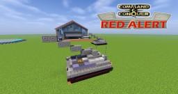 C&C Red Alert Artillery Minecraft Map & Project