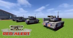 C&C Red Alert Light Tank Minecraft Map & Project