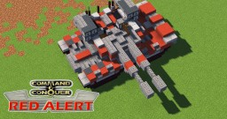 C&C Red Alert Mammoth Tank (Compact Vers.) Minecraft Map & Project
