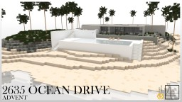 2635 Ocean Drive |cubed creative| Minecraft Map & Project
