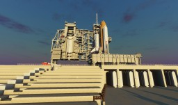 KSC-like | Space Shuttle + NASA Ground Complex | Minecraft Map & Project