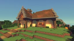 [Medieval] Small House - Casa pequeña Minecraft Map & Project