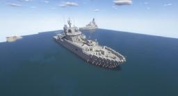 Echo-Class Survey Ship (Royal Navy) Minecraft Map & Project