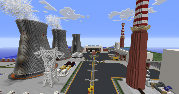 Fairly  Realistic Coal Thermoelectric Power Plant