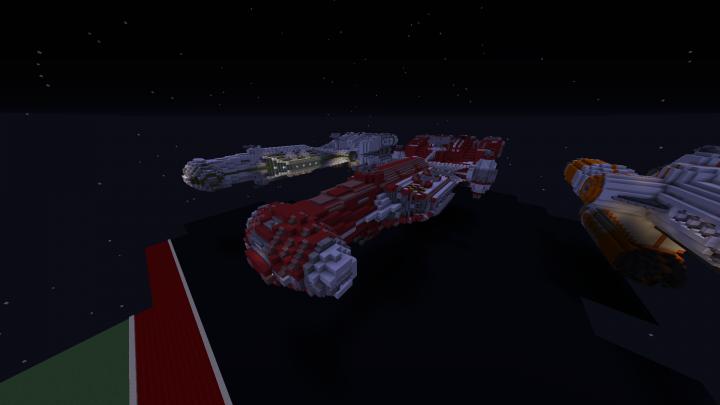 Cr90 Corvette Minecraft Project