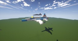 Northrop F-5E Tiger II (NDF-AF) Minecraft Map & Project
