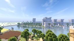 altes Ägypten, fiktive Stadt um 1500 vor Chr Minecraft