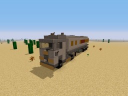 Fourgon with a tank Minecraft