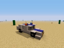 Police car Minecraft Map & Project