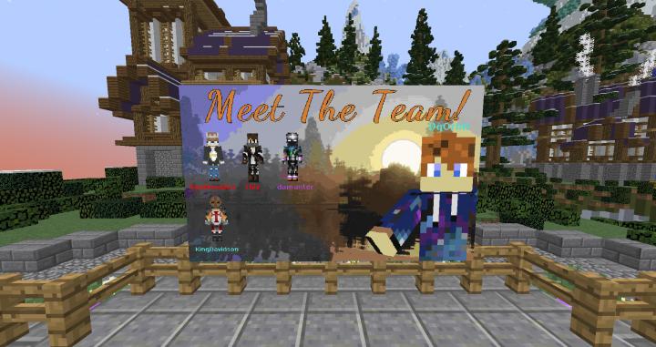 Custom-Made Staff Board at Spawn!