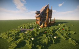 Jungle themed house Minecraft Map & Project