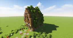 Small Forest House Minecraft Map & Project