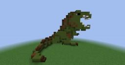Frank the Dinosaur Minecraft Map & Project