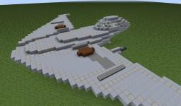 Naboo Star Skiff | Star Wars Minecraft Map & Project